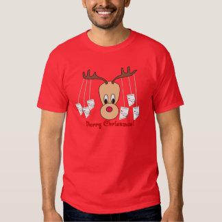 Reindeer Pharmacy Merry Christmas T-shirts
