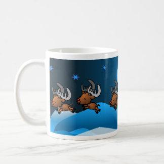 Reindeer Prance Coffee Mug