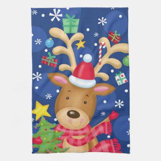Reindeer Ready Kitchen Towel