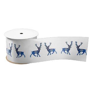 Reindeer Ribbon Satin Ribbon