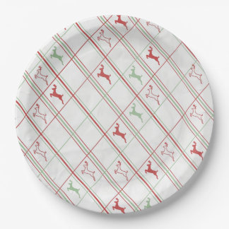 Reindeer Rise Christmas Party Paper Plates