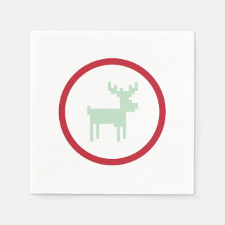Reindeer Sweater Weather Napkins Disposable Napkin