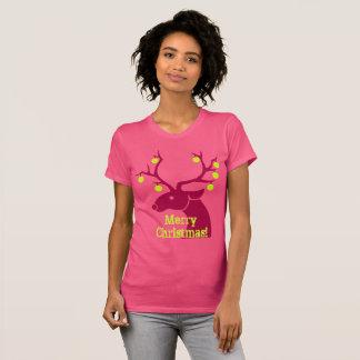 Reindeer tennis balls T-Shirt