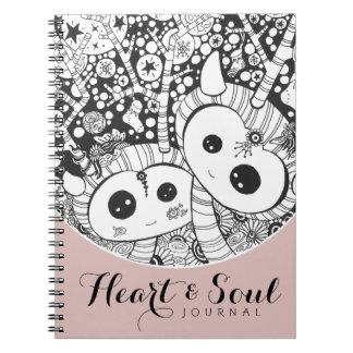 Reindeer Tree of Souls notebook journal