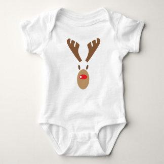Reindeer undershirt baby bodysuit
