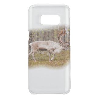 Reindeer walking in forest uncommon samsung galaxy s8 case