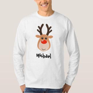 Reindeer with name Men's T-Shirt