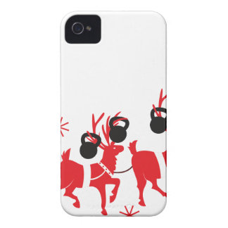 Reindeer Workout iPhone 4 Covers