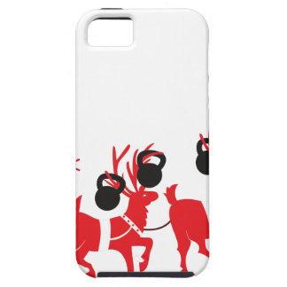 Reindeer Workout iPhone 5 Case