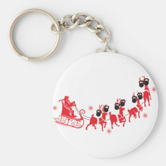 Reindeer Workout Keychain