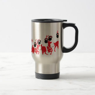 Reindeer Workout Travel Mug