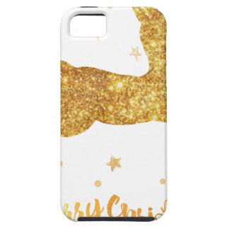 reindeere golden  stars iPhone 5 covers