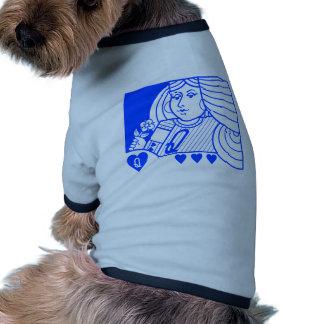 Reine contemporaine de l'habillement d'animal fami vêtements pour chien