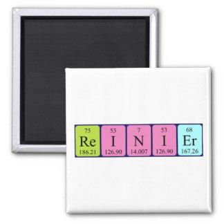Reinier periodic table name magnet