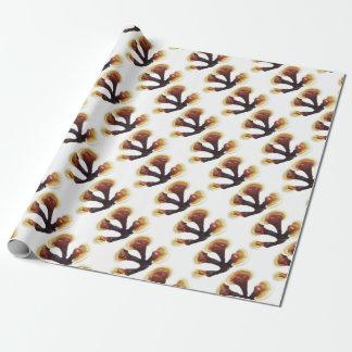 Reishi Mushroom Wrapping Paper