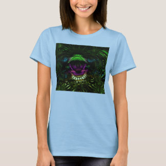 Réitérez la pièce en t 2 de rasoir de Quantum T-shirt