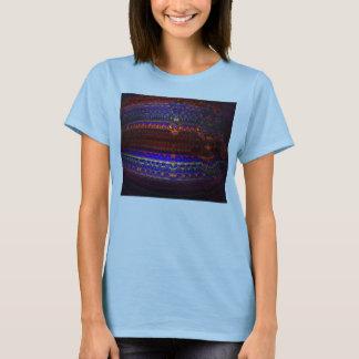 Réitérez la pièce en t 4 de rasoir de Quantum T-shirt