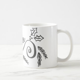 REJOICE COFFEE MUG