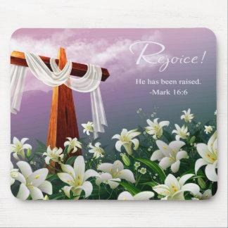 Rejoice!  Easter Gift Mousepad