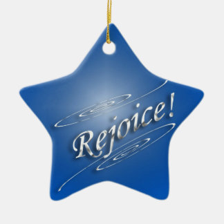 Rejoice In Him Christmas Ornament