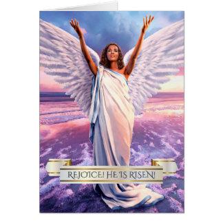 Rejoice. Jesus is Risen. Easter Greeting Cards