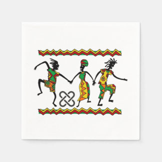 Rejoice Kwanzaa Party Paper Napkins