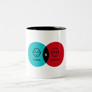 Relation Client - Dessinateur Mug À Café