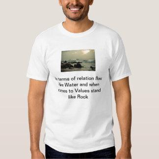 Relations et valeurs tshirts