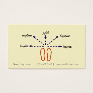 Relationship Counselor Business Card