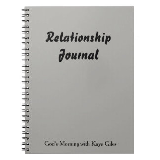 Relationship Journal for you and your mate.