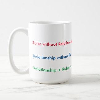 Relationship Rules Black 15 oz Two-Tone Mug