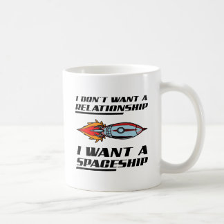 Relationship Spaceship Funny Mug