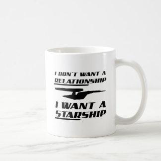 Relationship Starship Funny Mug