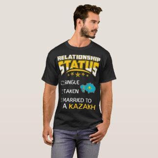 Relationship Status Single Taken Married Kazakh T-Shirt