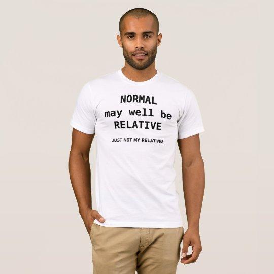 Relative Normal Tee
