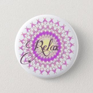 Relax 2 Inch Round Button