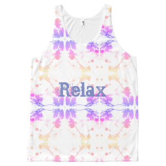 Relax All-Over-Print Tank Top