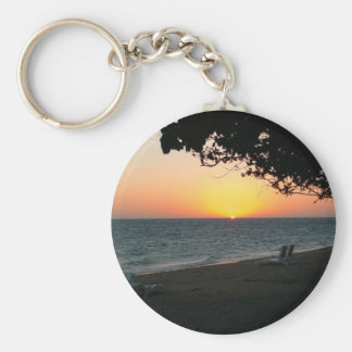 Relax and Enjoy Life Basic Round Button Keychain