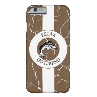 RELAX AND GO FISHING BARELY THERE iPhone 6 CASE
