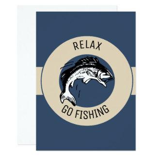 RELAXANDGO FISHING CARD