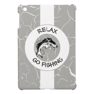 RELAX AND GO FISHING CASE FOR THE iPad MINI