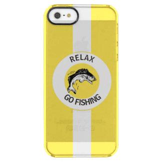 RELAXANDGO FISHING CLEAR iPhone SE/5/5s CASE