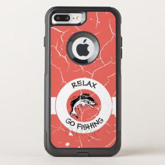RELAXANDGO FISHING OtterBox COMMUTER iPhone 8 PLUS/7 PLUS CASE