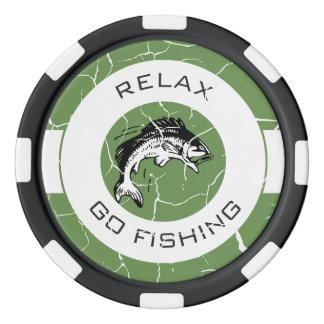 RELAXANDGO FISHING POKER CHIP SET