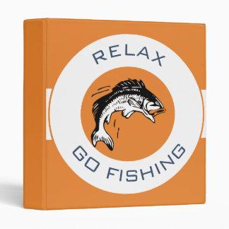 RELAXANDGO FISHING VINYL BINDERS