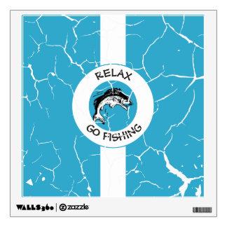 RELAXANDGO FISHING WALL DECAL