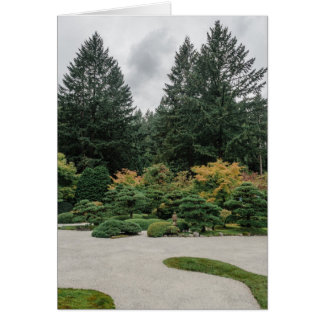 Relax at a Japanese Garden Card