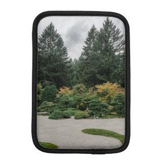 Relax at a Japanese Garden iPad Mini Sleeve