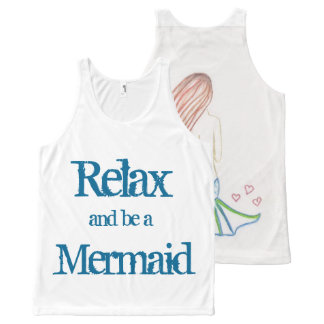 Relax & Be a Mermaid! by Mostly Mermaid Designs