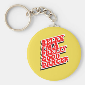 RELAX DANCER AMAZON KEYCHAIN